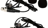 LS-970 UHF zsebadós mikrofon szett 2 db csíptetős mikrofon