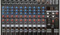MX1604FX Keverőpult, 8 Monó/2 Sztereó csatorna, effekt